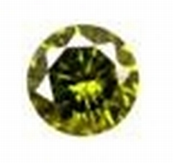 Cubic Olive 2,00 mm round