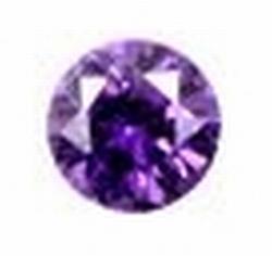 Cubic Violet 2.00 mm rond