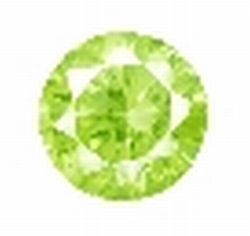 Cubic Apple Green round