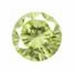 Cubic Peridot 2,00 mm rond