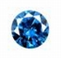 Cubic Swiss blue 2.00 mm round