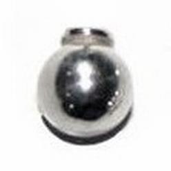 Choose&Change zilveren eindwisselkraal - Salak  7 mm
