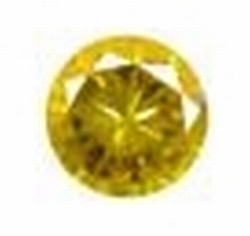 Cubic Citrine Yellow 2.00 mm rond