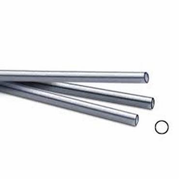 silver tubing 3,25 x 2,75mm, lengte 30,5 cm