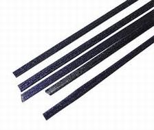 Effetre Aventurijn blue ribbon