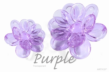 Asian Purple Transparant 250 gram