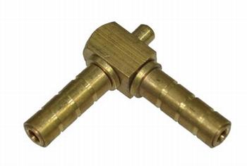 "Messing wartel 90 ° -1/4""  (6mm)"