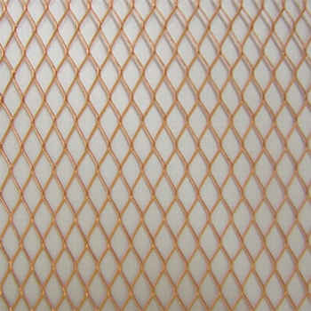 "Coppermesh Diamand pattern 1/4"""