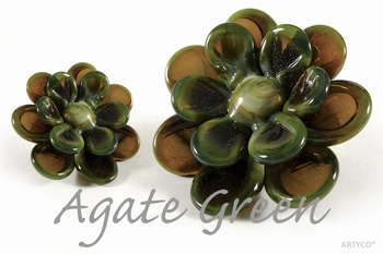 Asian Agate Green 250 gram  new!