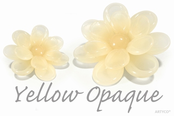 Asian Yellow Opqaue 250 gram  new!
