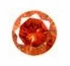 Cubic Oranje 2,00mm round