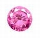 Cubic Pink 2.00 mm round