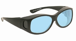 Didymium glasses Philips Black fit over style   GB-P2-FO