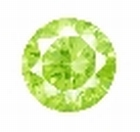Cubic Apple Green rond