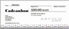 5. Gift voucher 100 euro