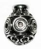 Choose&Change silver end bead- Mangis  10mm