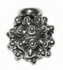 Choose&Change silver end bead -  Durian 10mm