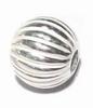 Zilveren tussenkraal- model Jeruk  8mm  per stuk