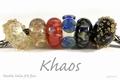 Double helix frit  Khaos 2 Oz  (56 gram)