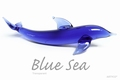 Asian Blue Sea Transparant 250 gram