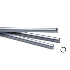 Zilverbuis 5,08 x 4,37 mm, lengte 30,5 cm